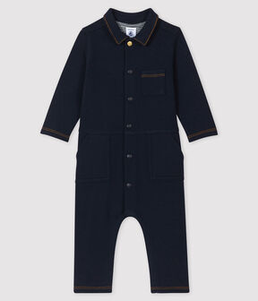Baby boy's long playsuit SMOKING