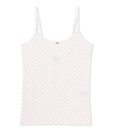 T-shirtnage girl's print strap vest