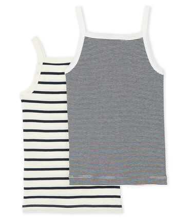 Girls' Strappy Tops - 2-Piece Set
