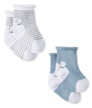 Unisex Babies' Socks - 2-Piece Set