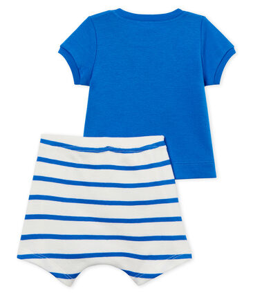 Baby boys' striped clothing - 2-piece set