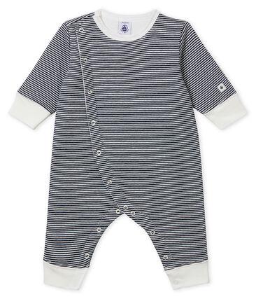 Baby Boys' Tube-Knit Footless Sleepsuit
