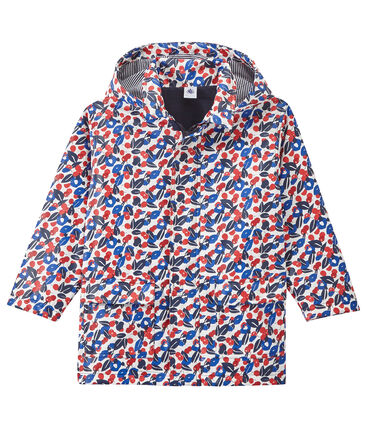 Girl's print raincoat