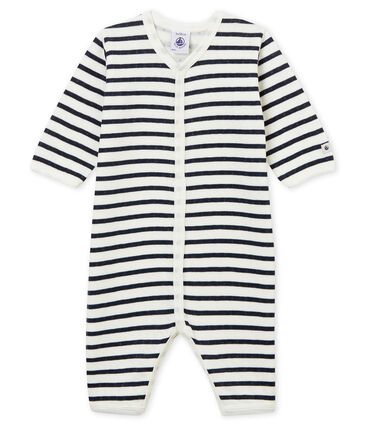 Unisex Babies' Tube-Knit Footless Sleepsuit