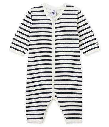 Unisex Babies' Tube-Knit Footless Sleepsuit