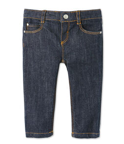 Baby boy's slim denim trousers