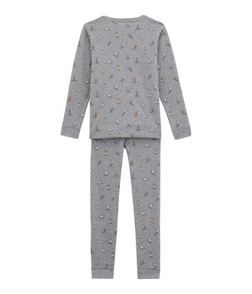 Little boy's fitted pyjamas.