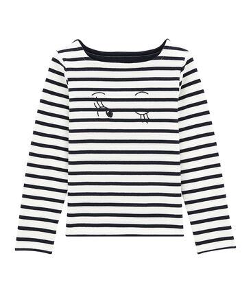 Girl's jersey breton top