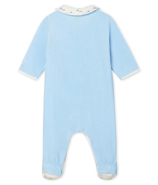 Baby Boys' Velour Sleepsuit TOUDOU
