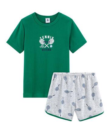 Boys' short Pyjamas in Brushed towelling