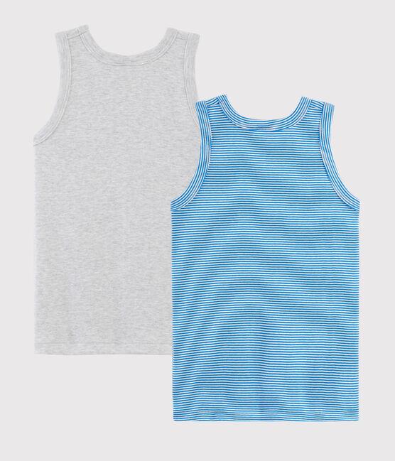 Boys' Pinstriped Vests - 2-Piece Set . set