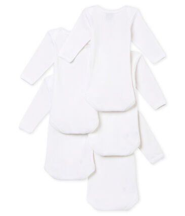 Set of 5 mixed baby's long sleeved bodies . set