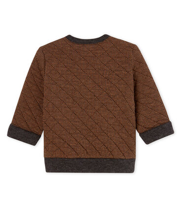 Baby Boys' Houndstooth Tube Knit Sweatshirt