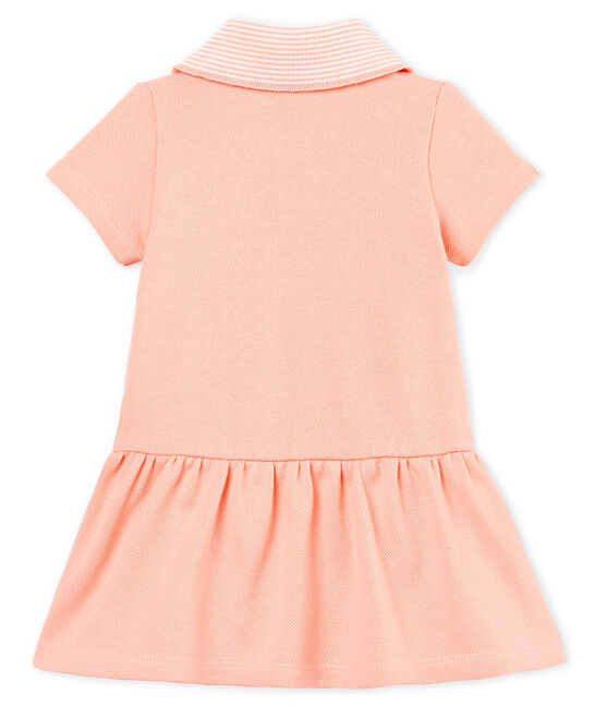 Baby girls' bodysuit/dress Rosako pink
