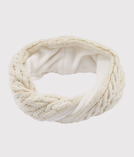 Girls' Snood Marshmallow white / Or yellow