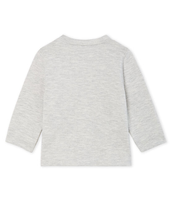 Baby Boys' Long-Sleeved T-Shirt Beluga grey