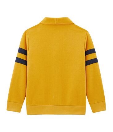 Boys' Cardigan Boudor yellow