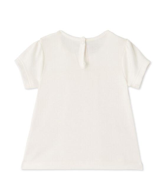 Baby girls' tee Marshmallow white