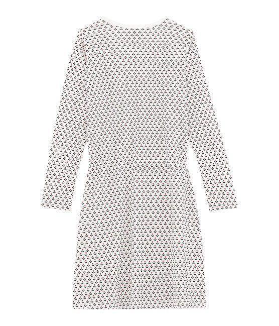 Girl nightgown Marshmallow white / Multico white
