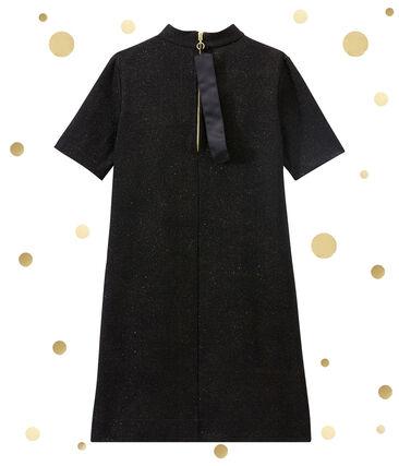 women's short sleeved sparkle fleck dress