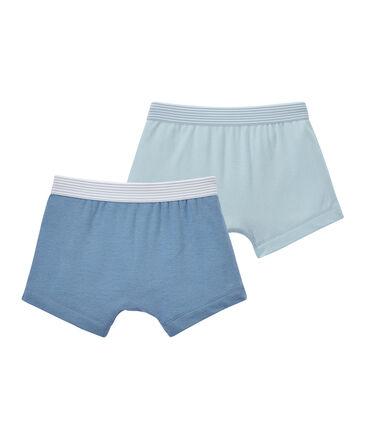 Set of 2 boy's plain boxers