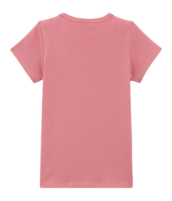 Girl's long sleeved T-shirt Cheek pink