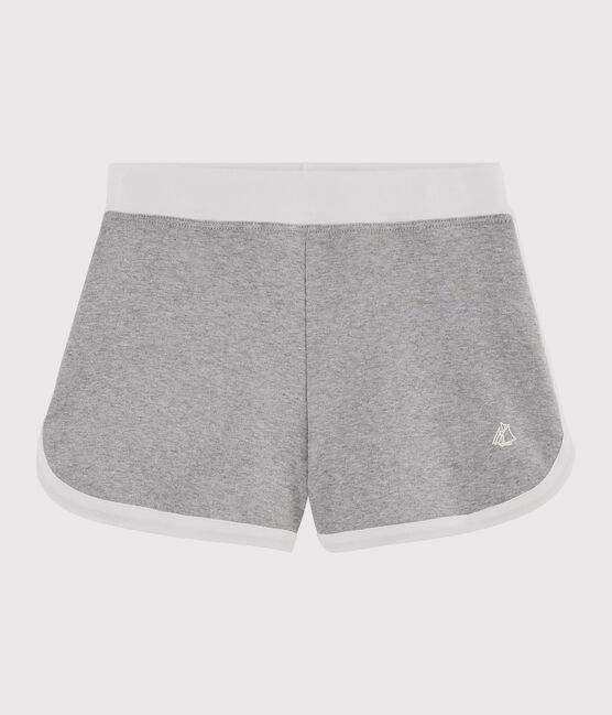 Girls' Sports Shorts Subway grey
