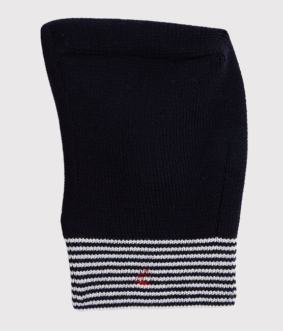 Unisex Knit Balaclava Smoking blue