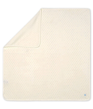 Babies' Ribbed Maternity Blanket MARSHMALLOW/SCULPTURE/MULTICO