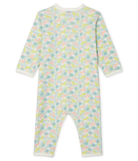 Babies' Footless Sleepsuit Marshmallow white / Multico white