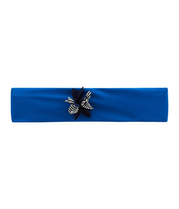 Girls' Swimming Headband Riyadh blue