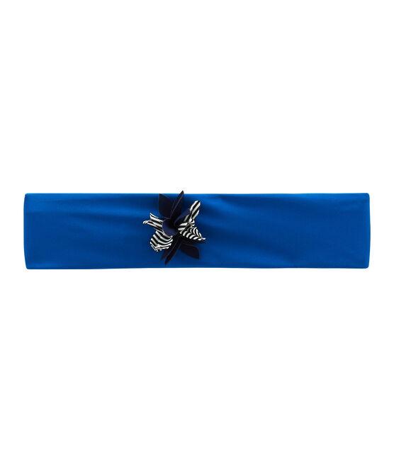 Girls' Swimming Headband Riyadh blue