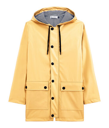 iconic mixed raincoat