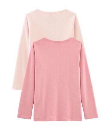Girls' Long-sleeved T-Shirt - Set of 2