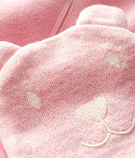 Baby's unisex microfleece-lined scarf MINOIS