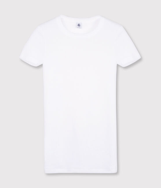 Women's Iconic Round Neck T-Shirt Ecume white