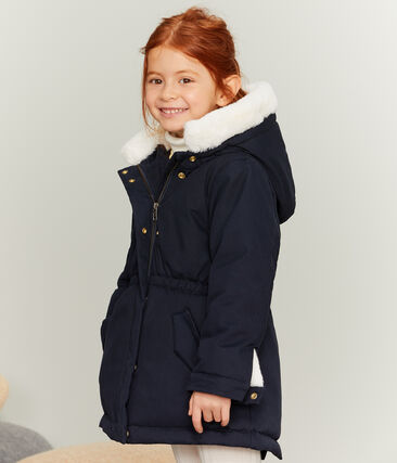 Girls' Parka Smoking blue