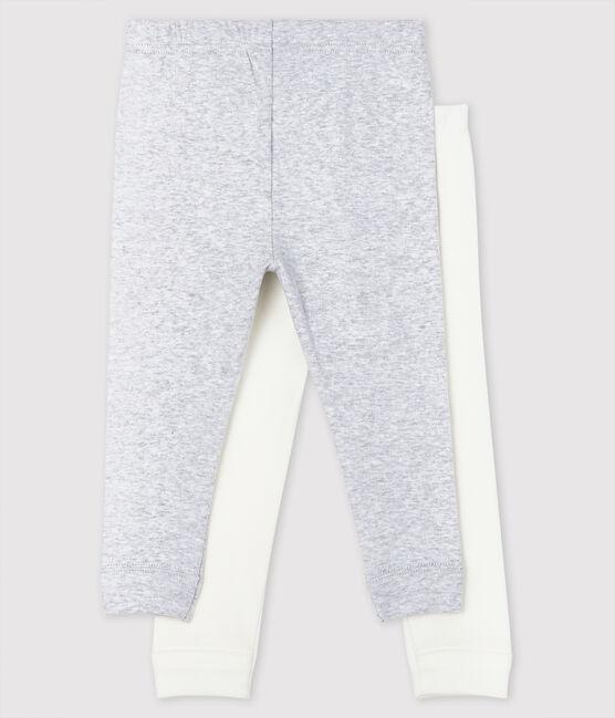 Baby Girls' Cotton Leggings - 2-Pack . set
