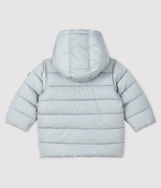 Baby boy's quilted puffer jacket GRIS CLAIR