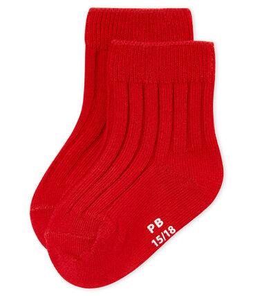 Mixed baby's ribbed socks