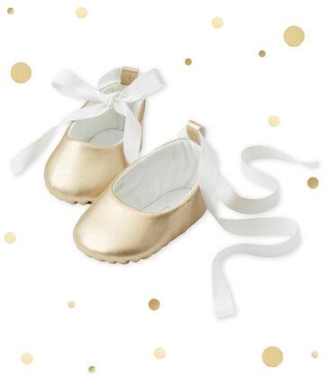 Baby girl's ballerina slippers
