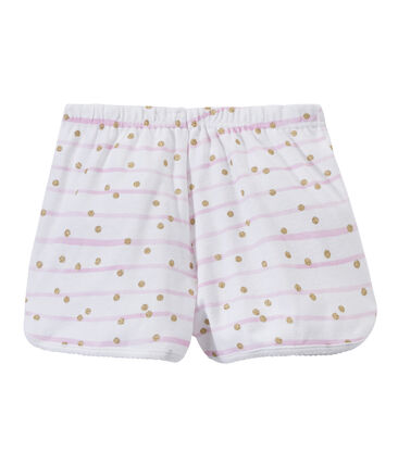 Girl's print shorts