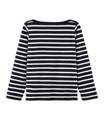 Boys' Iconic Sailor Top Smoking blue / Coquille beige