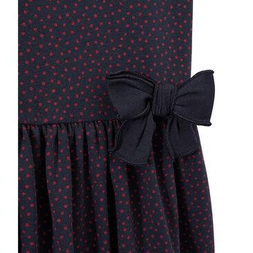Girls' polka-dot dress