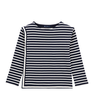 women's striped top in heavyweight jersey