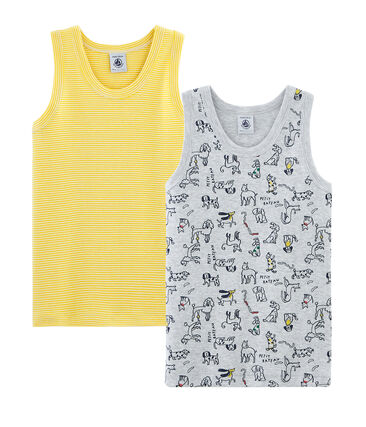 Boys' Sleeveless Tops - 2-Piece Set