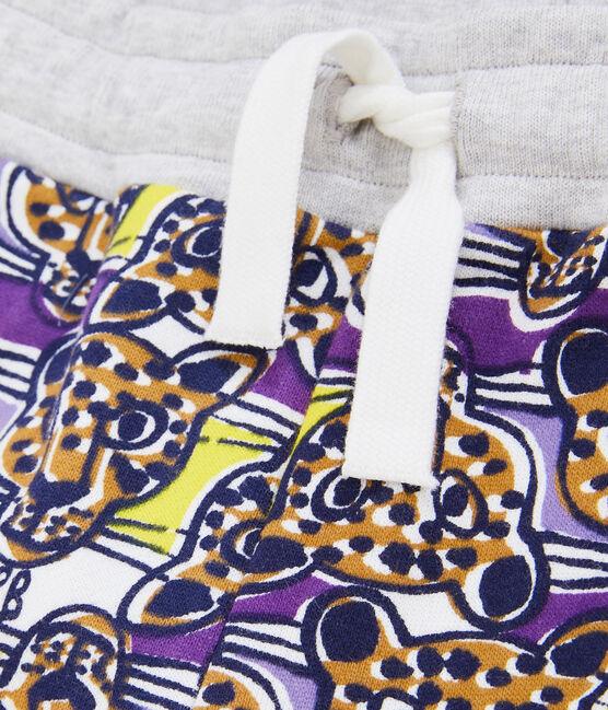 Boys' Knit Trousers Marshmallow white / Multico white