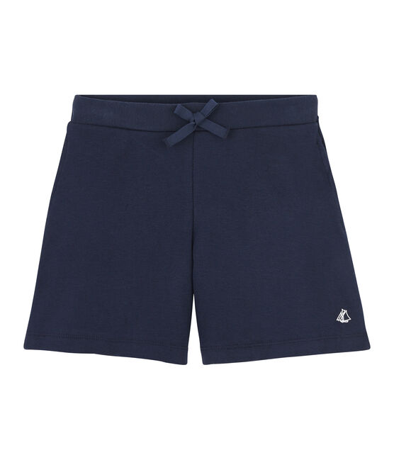 Girls' Knit Bermuda Shorts SMOKING