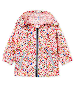 Baby girls' print windbreaker