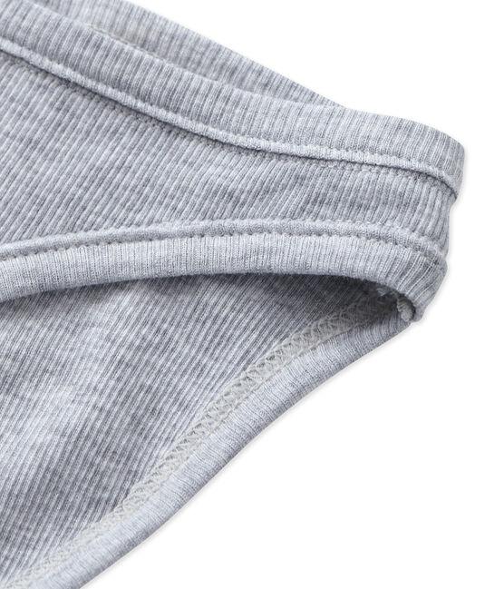 Culotte femme en coton Fumee Chine grey